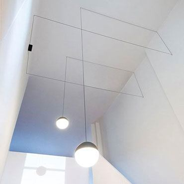Vom Alltag inspiriert - Flos String Light Sphere Head