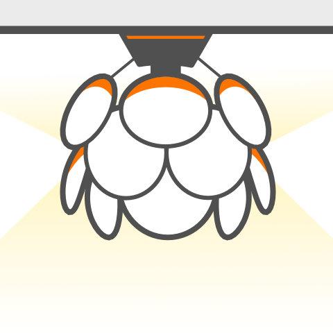 Lichtobjekte für die Decke von vielen Markenherstellern kaufen