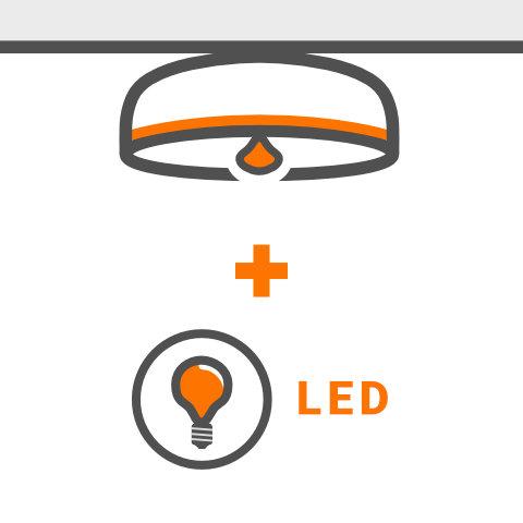 LED bestuckbare Deckenleuchten von vielen Markenherstellern hier kaufen