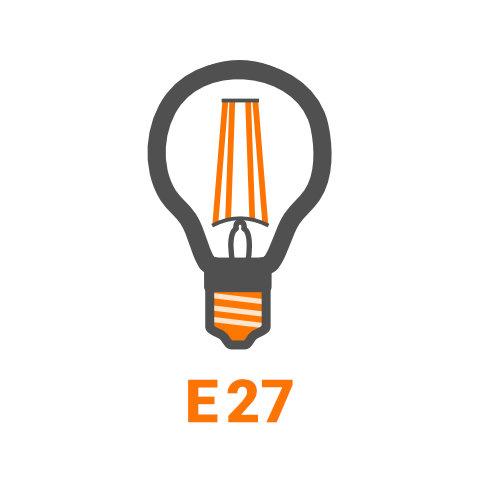 E27 - LED Lampen von vielen Markenherstellern bei lampenonline.de kaufen