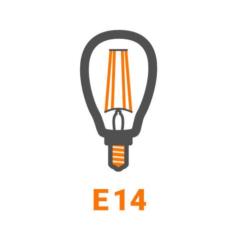 E14 - LED Lampen von vielen Markenherstellern bei lampenonline.de kaufen