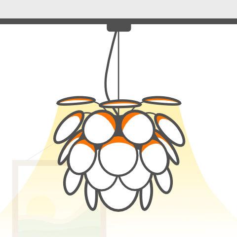 Lichtobjekte zum Abpendeln von vielen Markenherstellern bei lampenonline kaufen