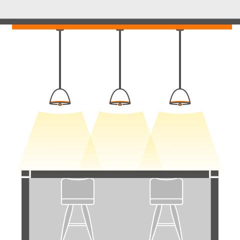 Pendel für Theken und Tresen von vielen Markenherstellern bei lampenonline kaufen