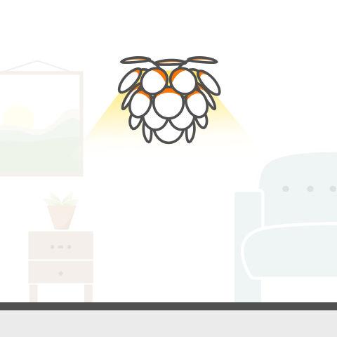 Lichtobjekte für die Wand von vielen Markenherstellern bei lampenonline kaufen