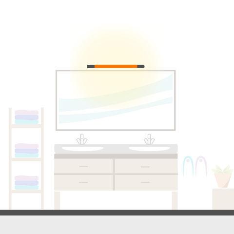 Spiegel-Wandleuchten von vielen Markenherstellern bei lampenonline kaufen