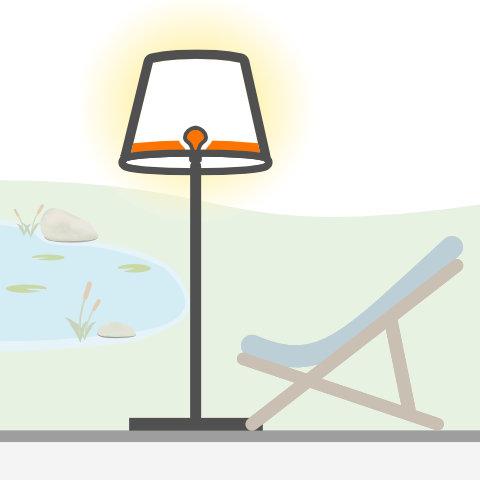 Stehleuchten von vielen Markenherstellern bei lampenonline.de kaufen