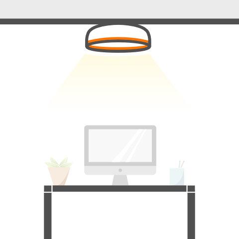 Deckenleuchten für Büro und Gewerbe von vielen Markenherstellern bei lampenonline kaufen