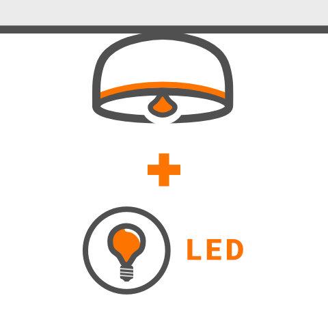 Designdeckenleuchten mit LED bestückbar von vielen Markenherstellern bei lampenonline kaufen