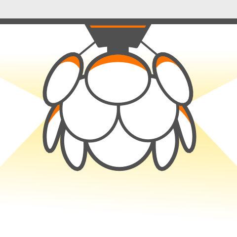 Designobjekte für die Decke von vielen Markenherstellern bei lampenonline kaufen