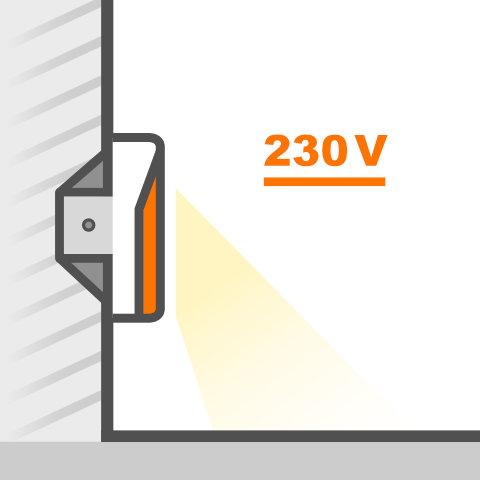 Wandeinbauleuchten 230V von vielen Markenherstellern bei lampenonline kaufen