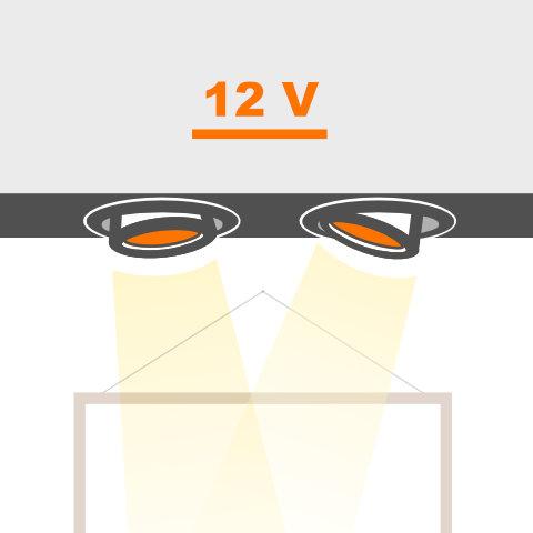Deckeneinbauleuchten 12V von vielen Markenherstellern bei lampenonline kaufen