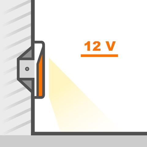 Wandeinbauleuchten 12V von vielen Markenherstellern bei lampenonline kaufen