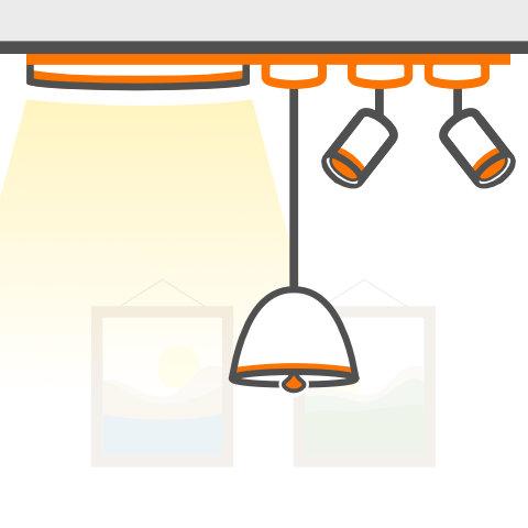 Schienensysteme für Leuchten