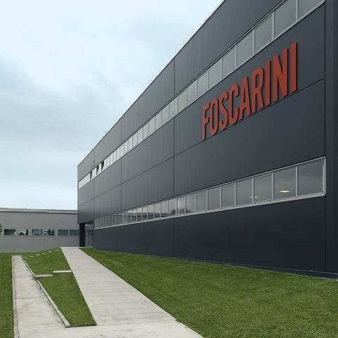 Die Foscarini Zentrale in Marcon, Italien