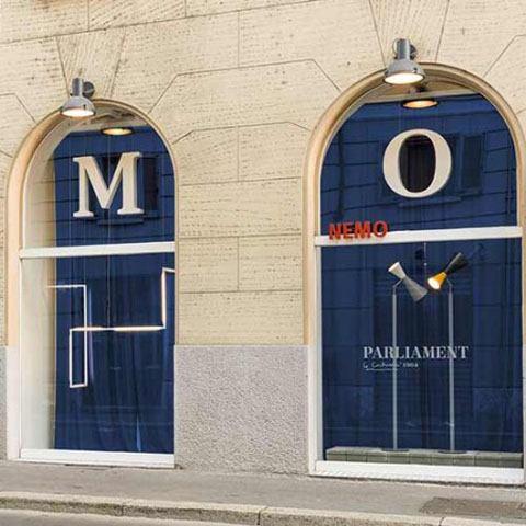 Nemo Showroom in Mailand, Italien