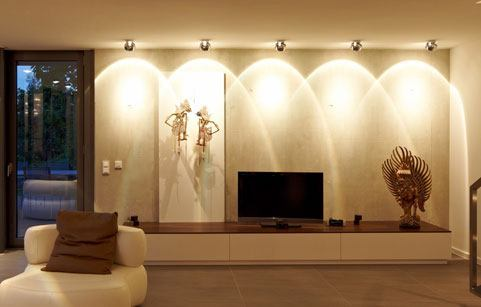 Lichtberatung Referenz Wohnzimmer