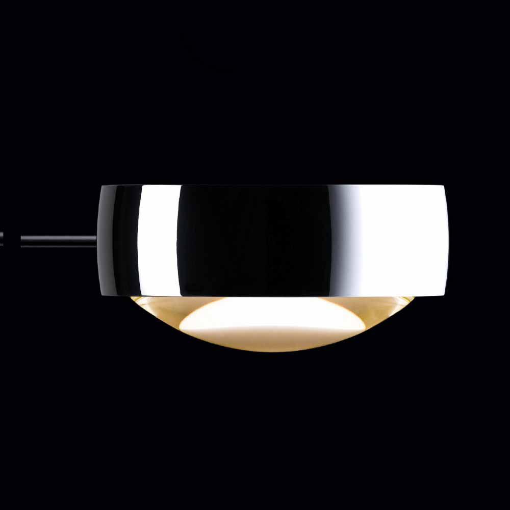 Occhio Sento soffitto due LED-Deckenleuchte 2x18W 80 cm