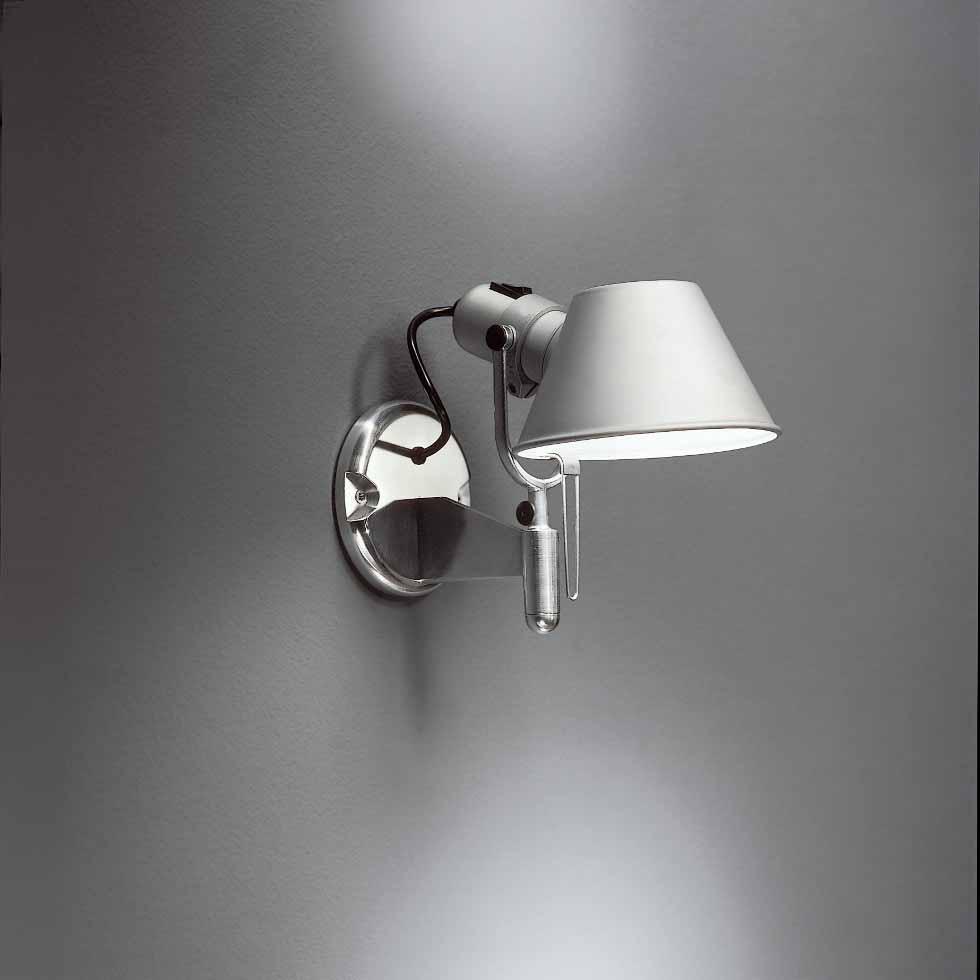 artemide tolomeo micro faretto wandleuchte. Black Bedroom Furniture Sets. Home Design Ideas
