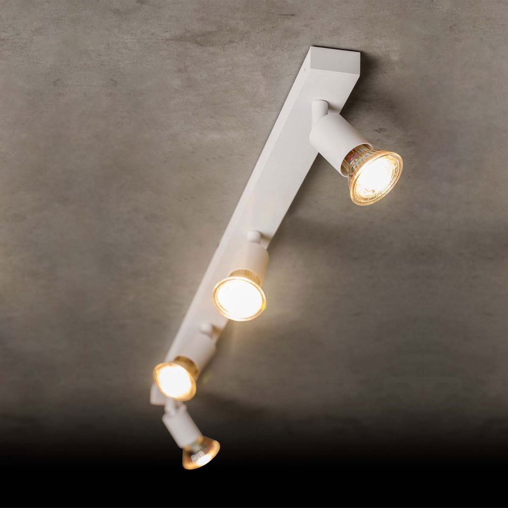holtk tter 4504 led deckenstrahler 4 flammig. Black Bedroom Furniture Sets. Home Design Ideas