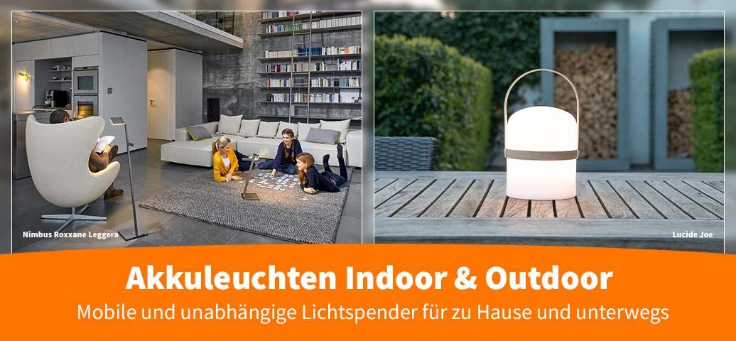 Akkuleuchten Indoor & Outdoor
