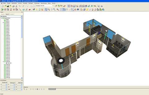 Lichtberatung 3D-Simulation