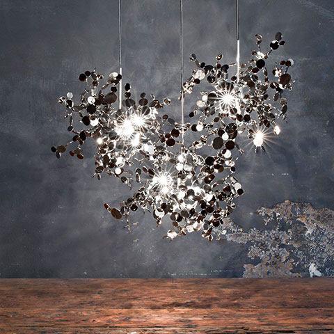 Terzani Argent Leuchten in vielen Größen und Varianten