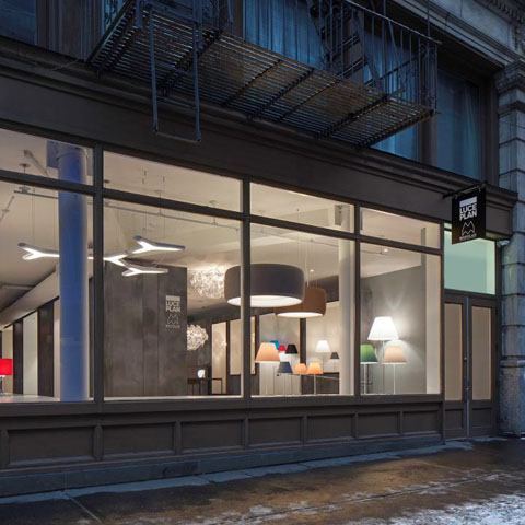 Luceplan Showroom in New York