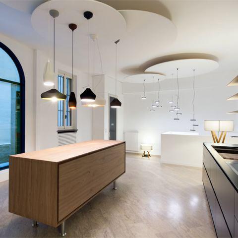 Der Marset Showroom in Mailand