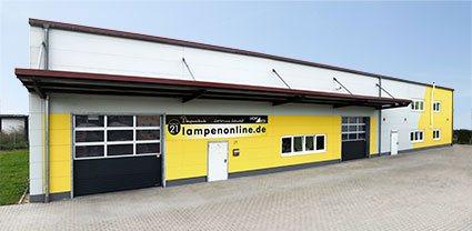 Standort der Lampenonline GmbH zum Onlinevertrieb der Designleuchten von Designleuchten von Artemide, Occhio, Bankamp, Bopp Leuchten, Escale, Foscarini, Baltensweiler und vielen anderen Herstellern.